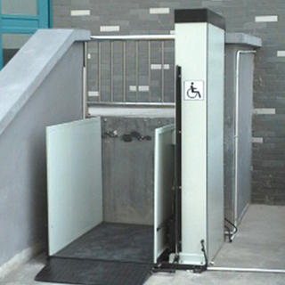 electric home wheelchair lifting platform for disabled people