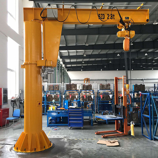 column mounted jib cranes