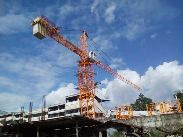 Cambodia Client Visit Our Company to order Tower Crane