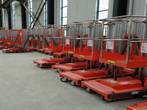 Classification of aluminum alloy lifting platform