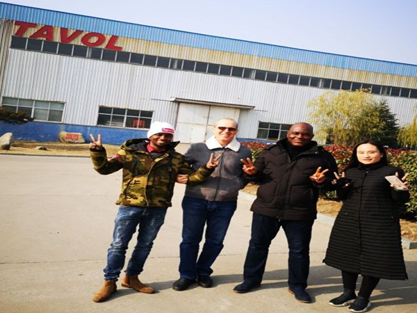 Clients from Guinea Visited Our Factory