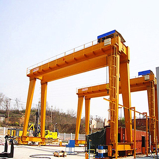 Tavol Brand 15t MHS Model, Double Girder Gantry Crane with FEM European Deisgn.
