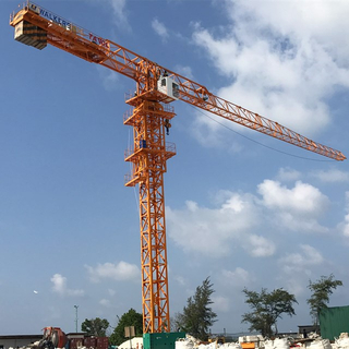 Topless Flat Top Type Tower Crane for Building Construction