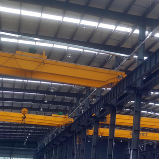 Tavol Brand LH Unversal And Popular Model Double Girder Bridge Cranes for Sale with SWL 3-32tons