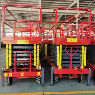 7m Wholesale Battery Powered Mobile Scissor Lift