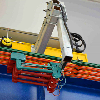 crane busbars for crane power system system
